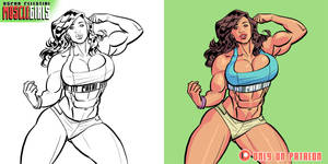 Ana Cheri comic version