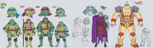 Ninja turtles studies
