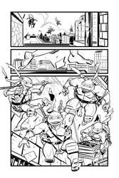 TMNT test page 2, inks!