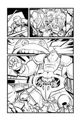TMNT test page 3, inks!