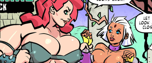 Vore action on my new adult comic on patreon!