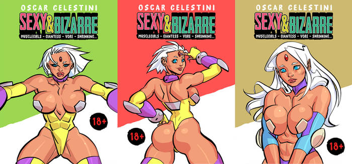 Sexy and Bizarre covers preview