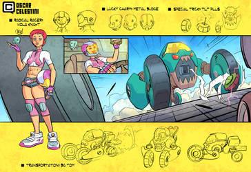 Radical Racer Viola Knight