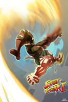 guile from street fighter by OscarCelestini