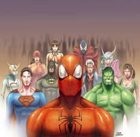 heroes by OscarCelestini