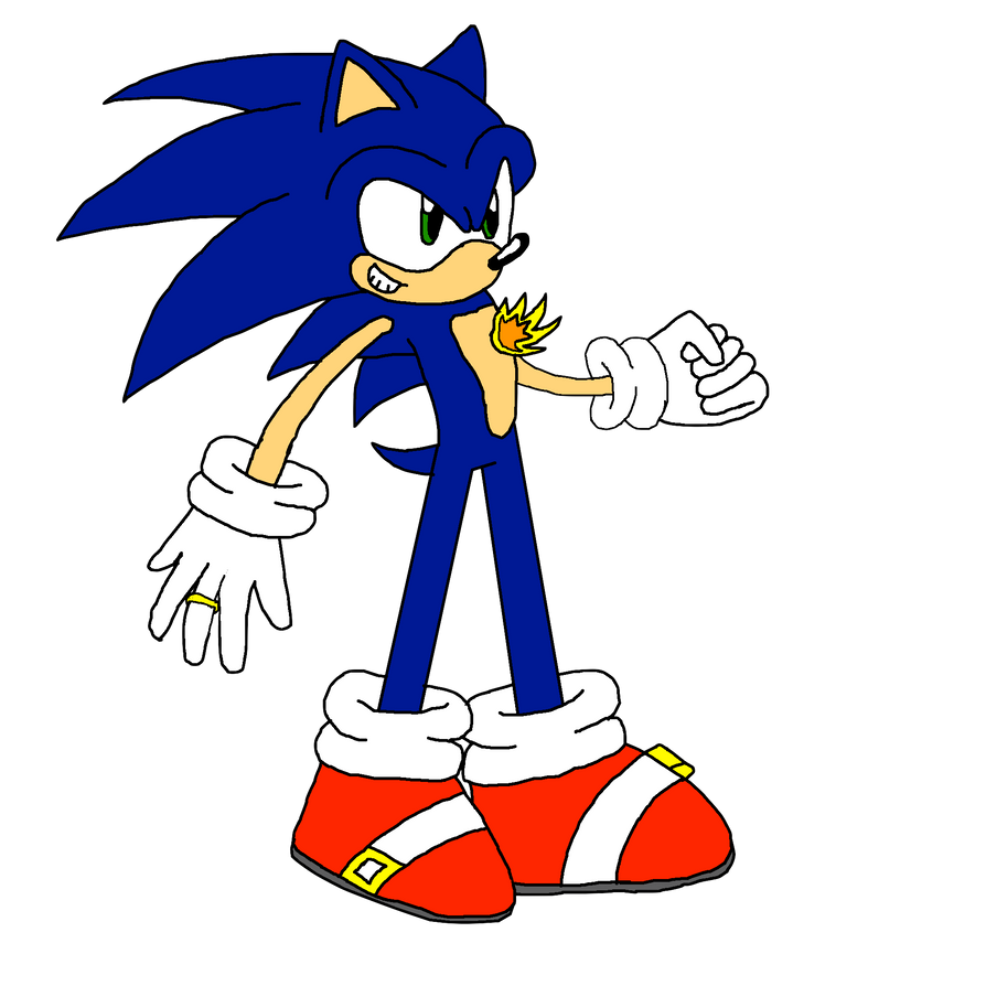 Sonic And The Secret Rings Sonic By Notredametp On DeviantART