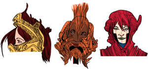 Doodle heads