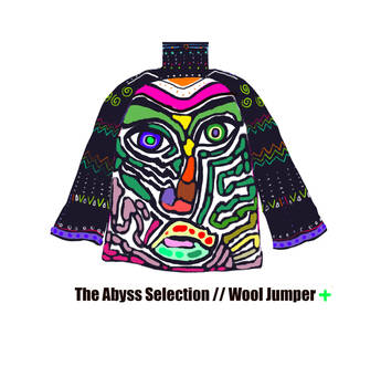 The Abyss Selection - Wool Jumper - Green Cross