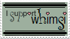 I Support whimsi Stamp by whimsi