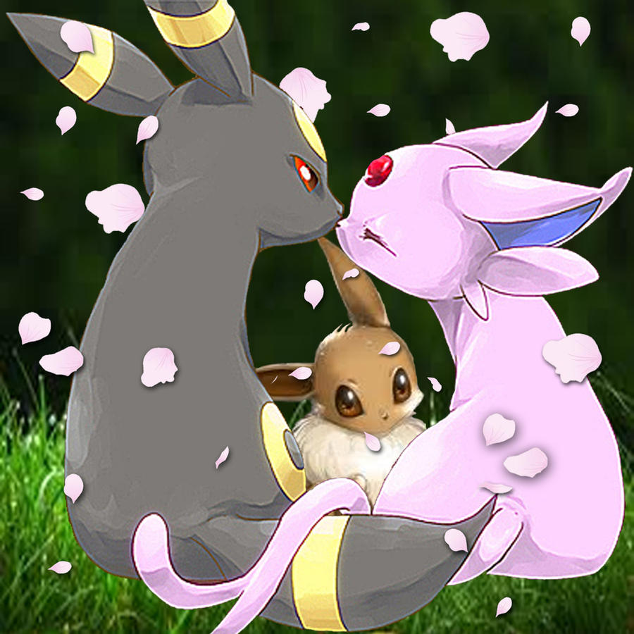 Umbreon And Espeon Wallpaper