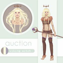 { CLOSED }  Viking Witch by nepheme