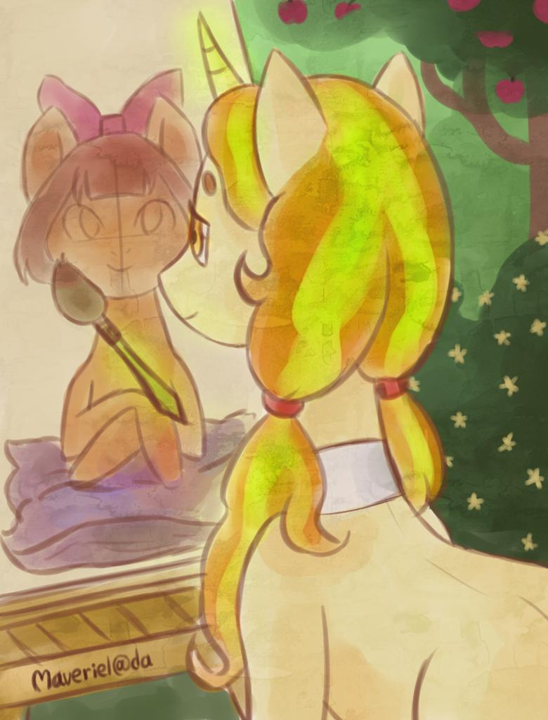 unicorn - request by Maveriel
