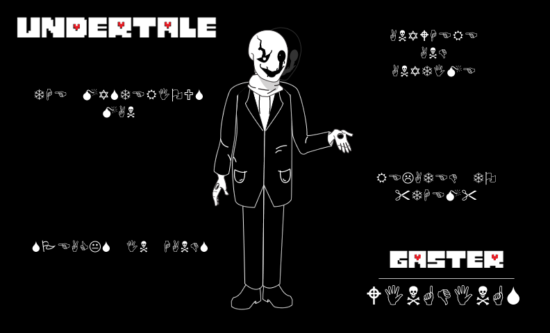 Undertale Gaster Wallpaper By Science00ninja On Deviantart