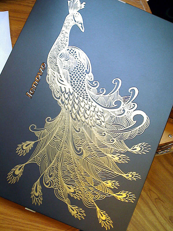 Golden peacock by waver-h
