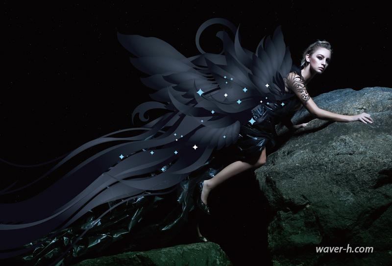Dark Angel by waver-h