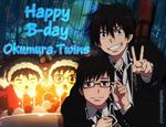 Happy B-day Okumura Twins