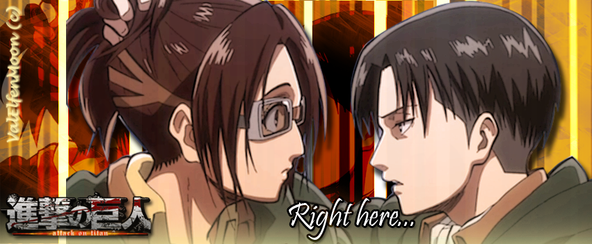 Hanji n' Rivaille Banner by ValElfenMoon
