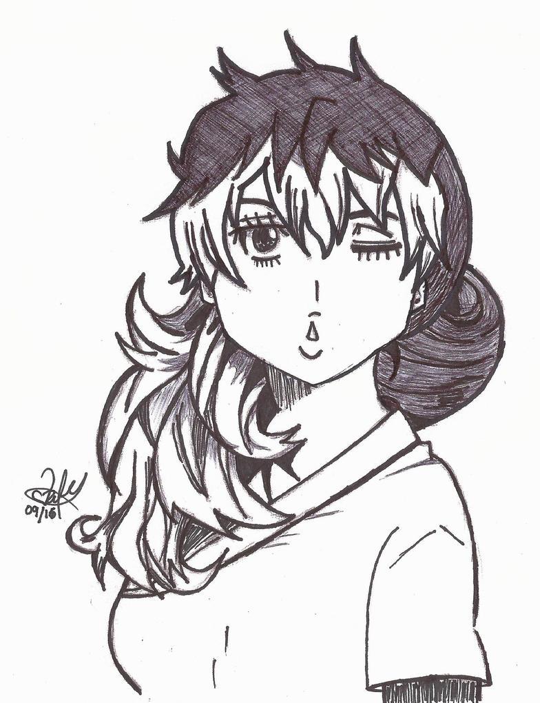 Kirigakure Shura BnW by ValElfenMoon
