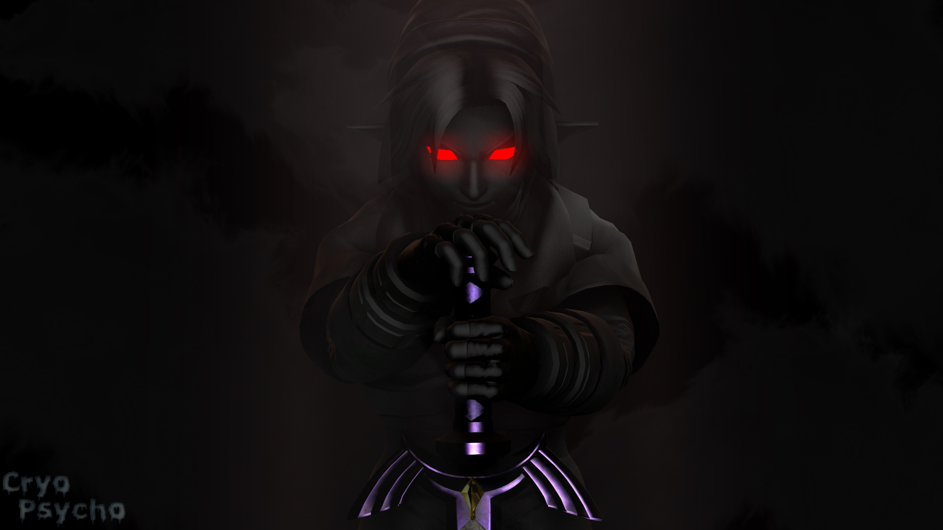 Dark Link Wallpaper Wallpaper By Cryo Psycho On Deviantart