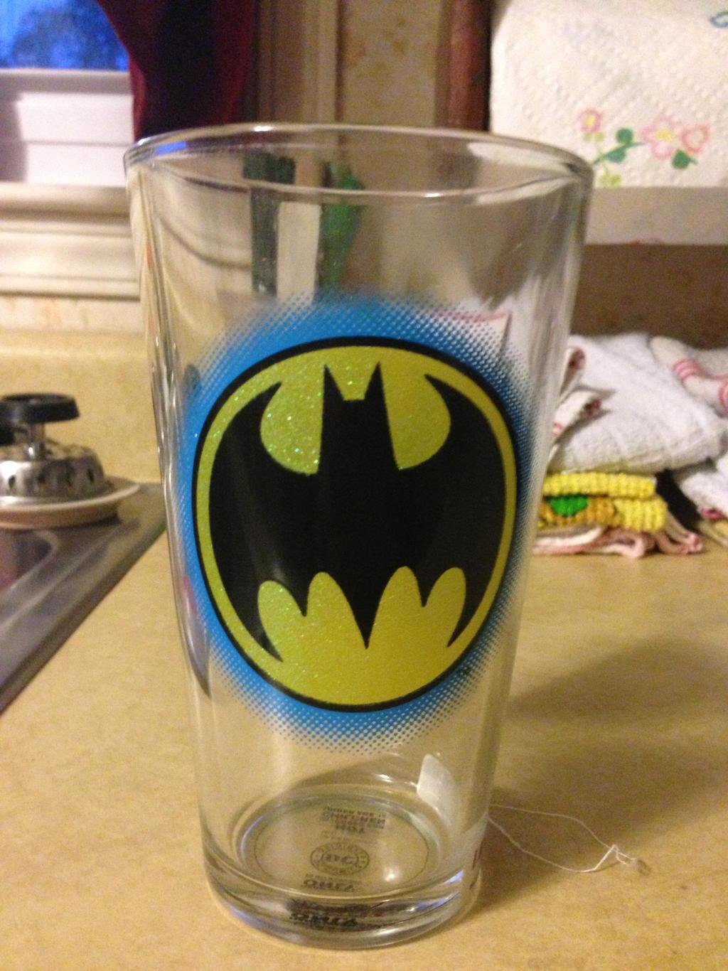 batman cup! by iluvgrey