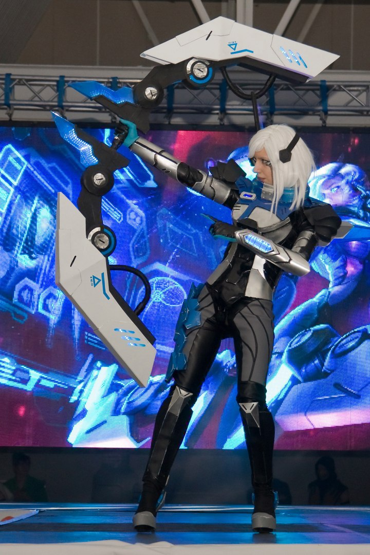 PROJECT ASHE league of legends by 23619