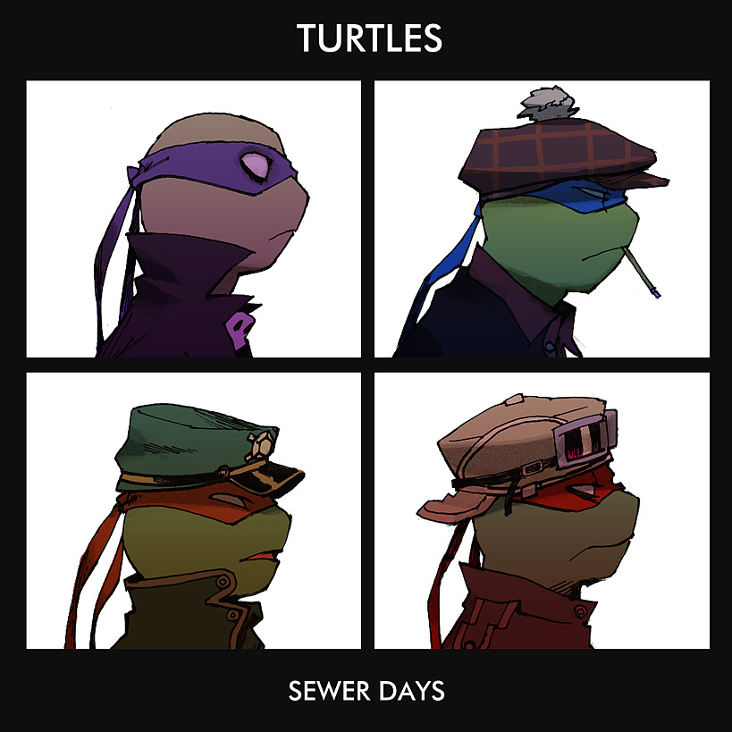 TURTLES by s-bis