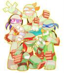 SUPER MINI PUZZLE TURTLES