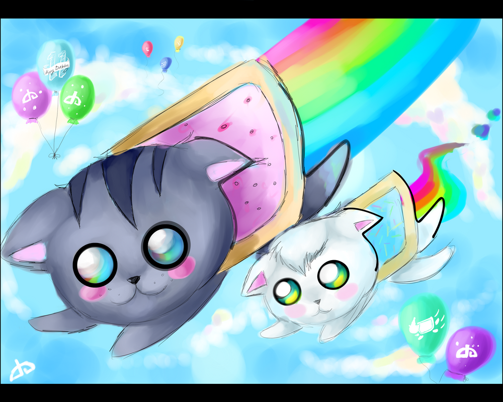 .::Contest Entry::. Nyan :3 by XxNikkiAngelxX