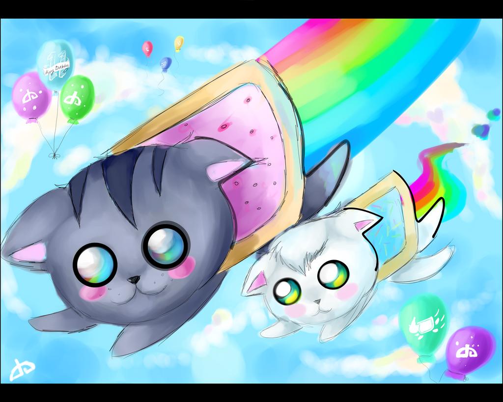 .::Contest Entry::. Nyan :3 by XxNikkiAngelxX