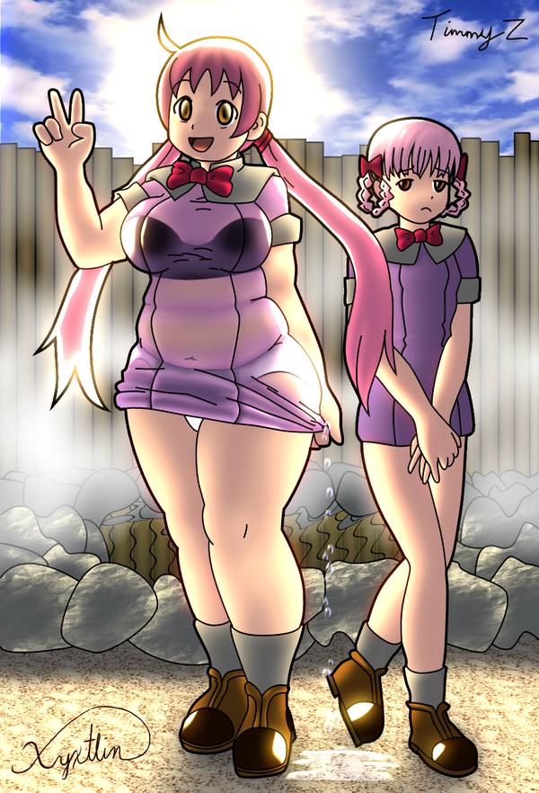 Yukie n Momokari CG by timmyz by xyxtlin