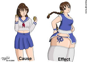 Kasumi - Cause and Effect by xyxtlin