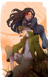 Leto and Jasper   FanArt by YAMS