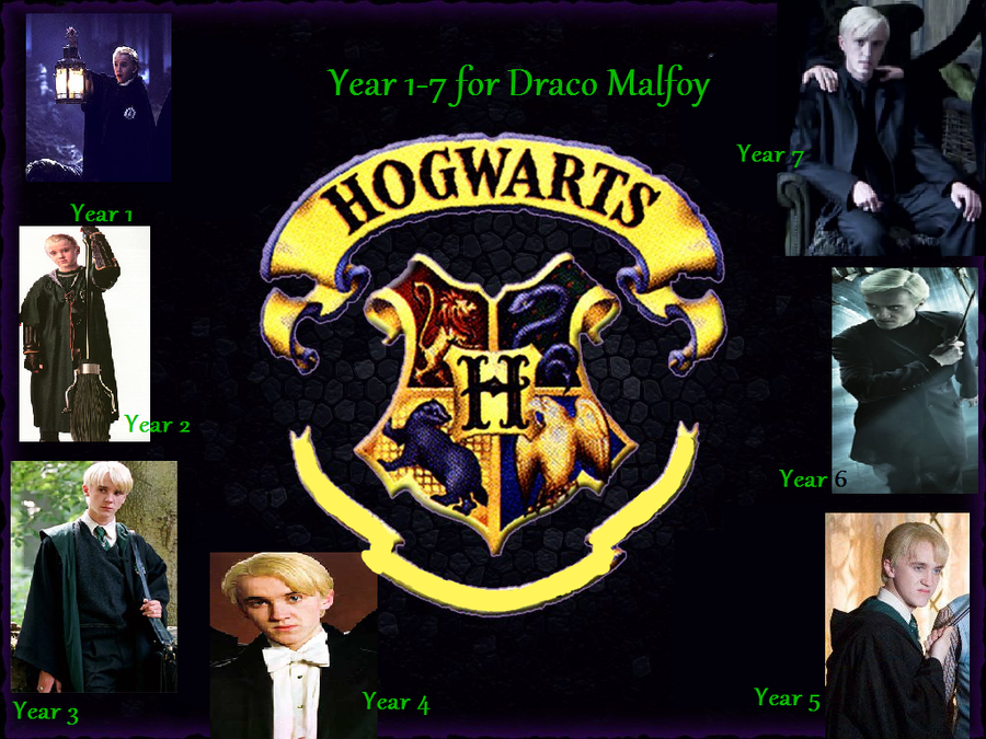 Draco Malfoy Years 1-7 by DMFan1920 on DeviantArt