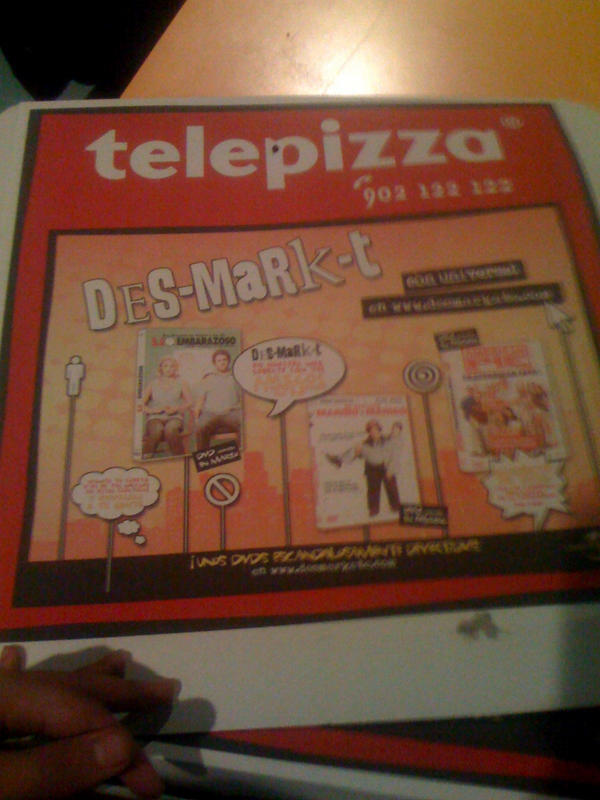 Telepizza box by melemel