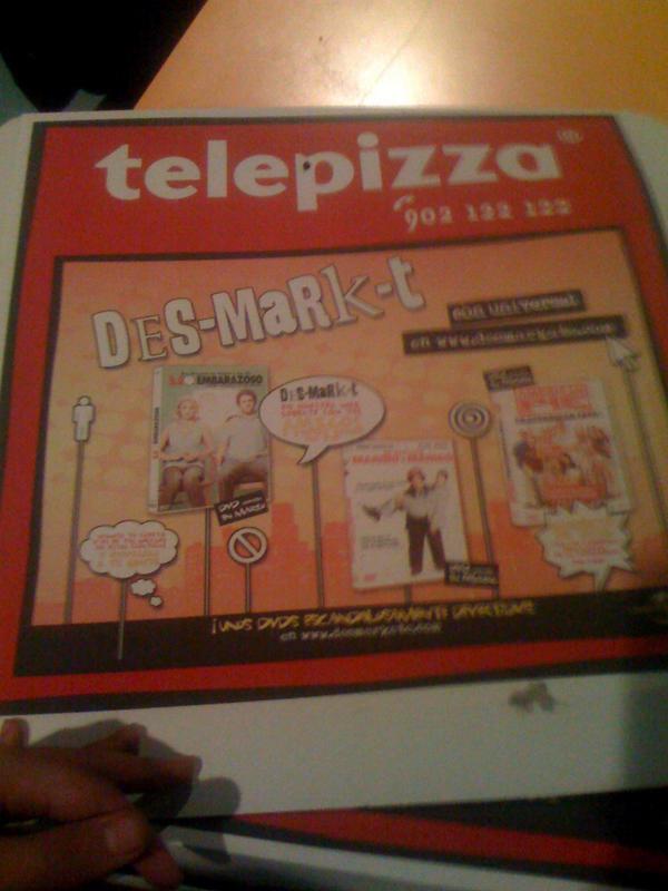 Telepizza box by melemel
