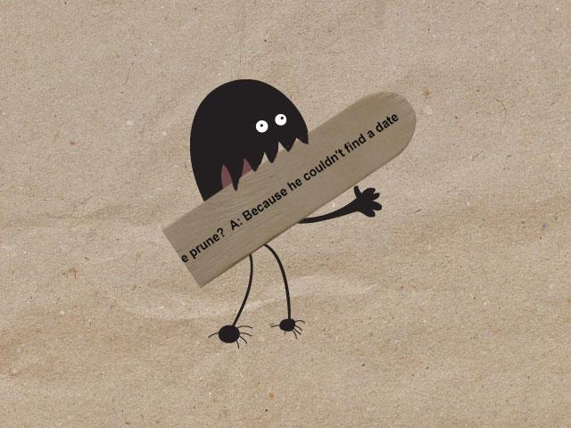 No sense of humour by melemel