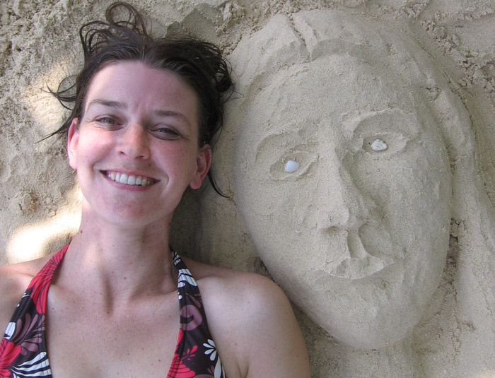 Me and my Sand Face by melemel