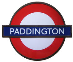 London Underground Sign by melemel