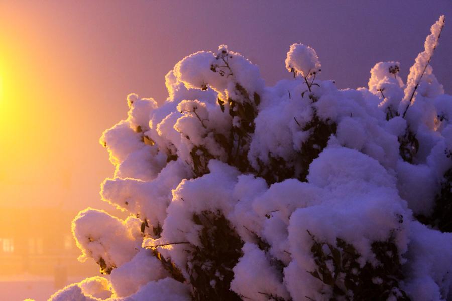 Snow Cumulus by melemel