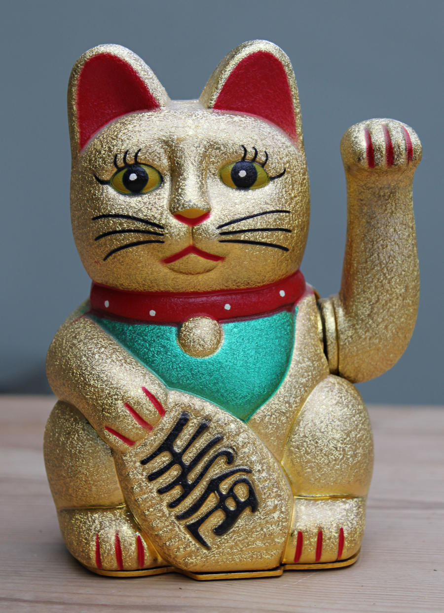Lucky Cat Stock by melemel