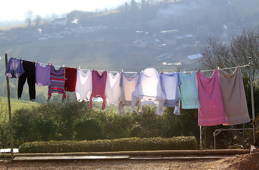 Good Drying Day by melemel
