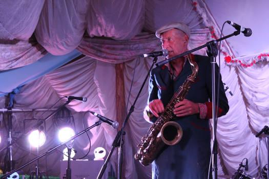 Glastonbury 2010 - Nik Turner