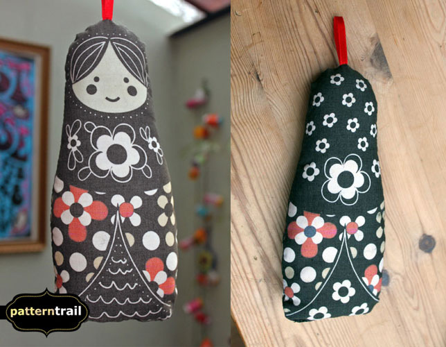 Soft Matryoshka Doll by melemel