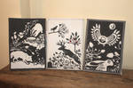 Woodland canvases