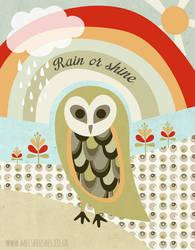 Rain Or Shine by melemel