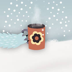 A Monster Hot Chocolate by melemel