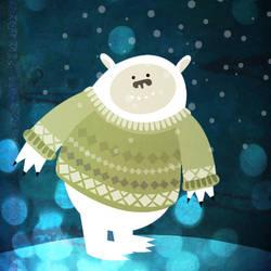 Do Yeti's Wear Sweaters? by melemel