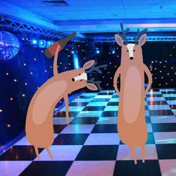 The Disappointed Disco Deer