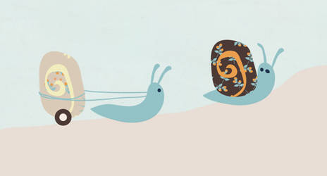 Snail Trail by melemel
