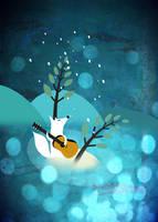 Blue Night Serenade by melemel